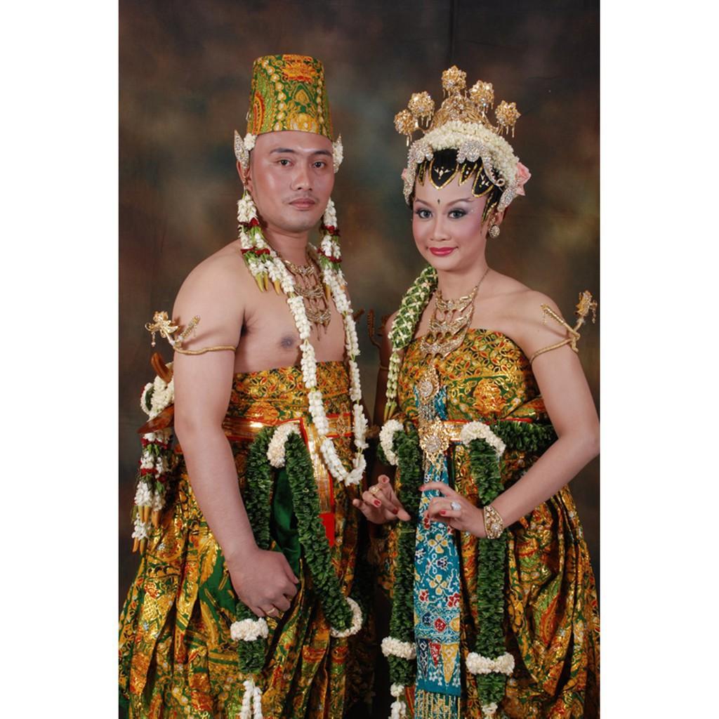 Sepasang Baju Pengantin Dodot Dodotan Prodo Adat Jawa Solo Jogja Basahan  Kebayadiva Kualitas Terbaik
