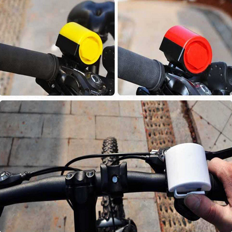 Bicycle Cycling Horn Electronic Bike Handlebar Ultra Loud Ring Bell Durable New