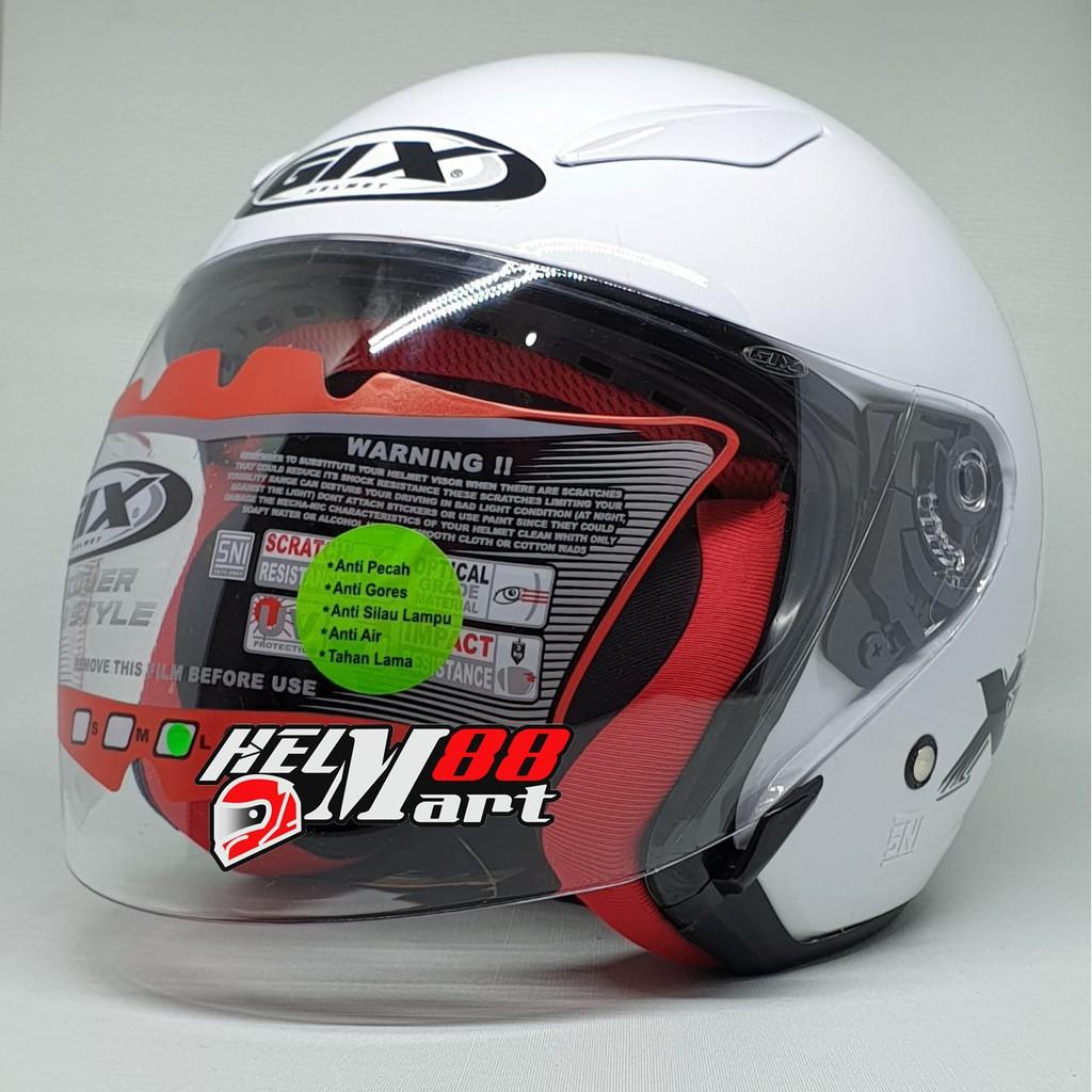 Helm GIX X Ray Solid mirip kyt dj maru helm murah