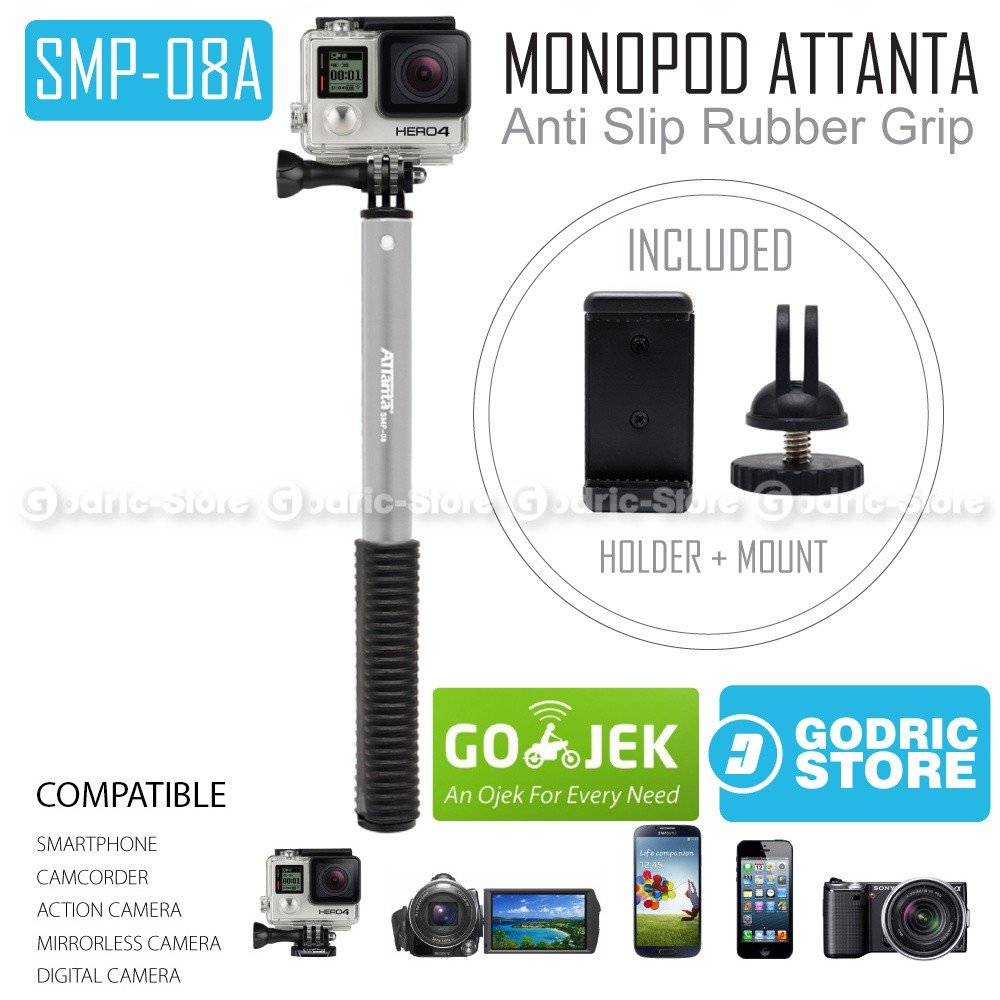 Brica B Pro Insta360 Air Panoramic Hd 3k Vr Insta 360 Camera Usb Type C Black T Shirt Free Tongsis Shopee Indonesia