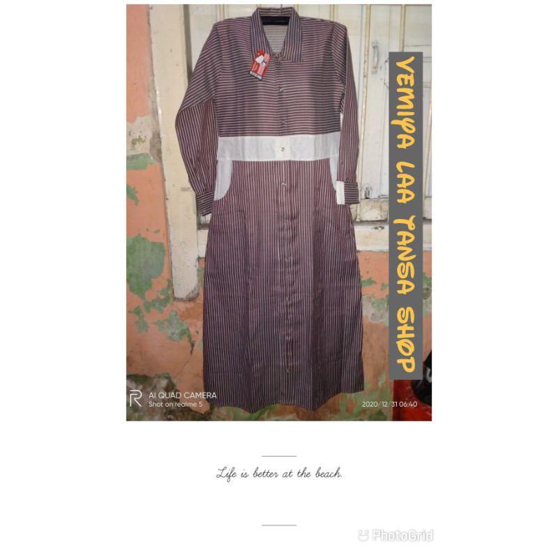 baju gamis/busui freindly/gamis murah/baju anak gontor/seragam gontor/perlengkapan anak gontor/baru