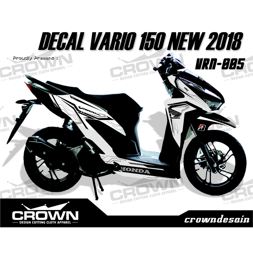 Cutting Sticker Vario 150