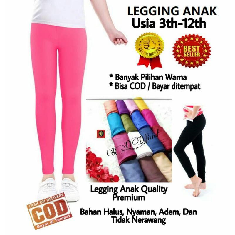 Legging Anak Perempuan Celana Legging Anak Legging Anak Murah Leging Anak Perempuan Lejing Shopee Indonesia