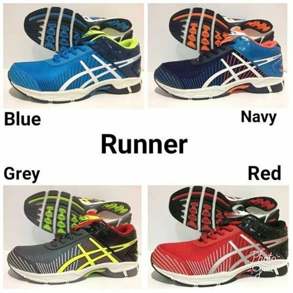 reebok pheehan run 4.0 men BS9289 Original Sepatu Lari Pria  5c03615e4b