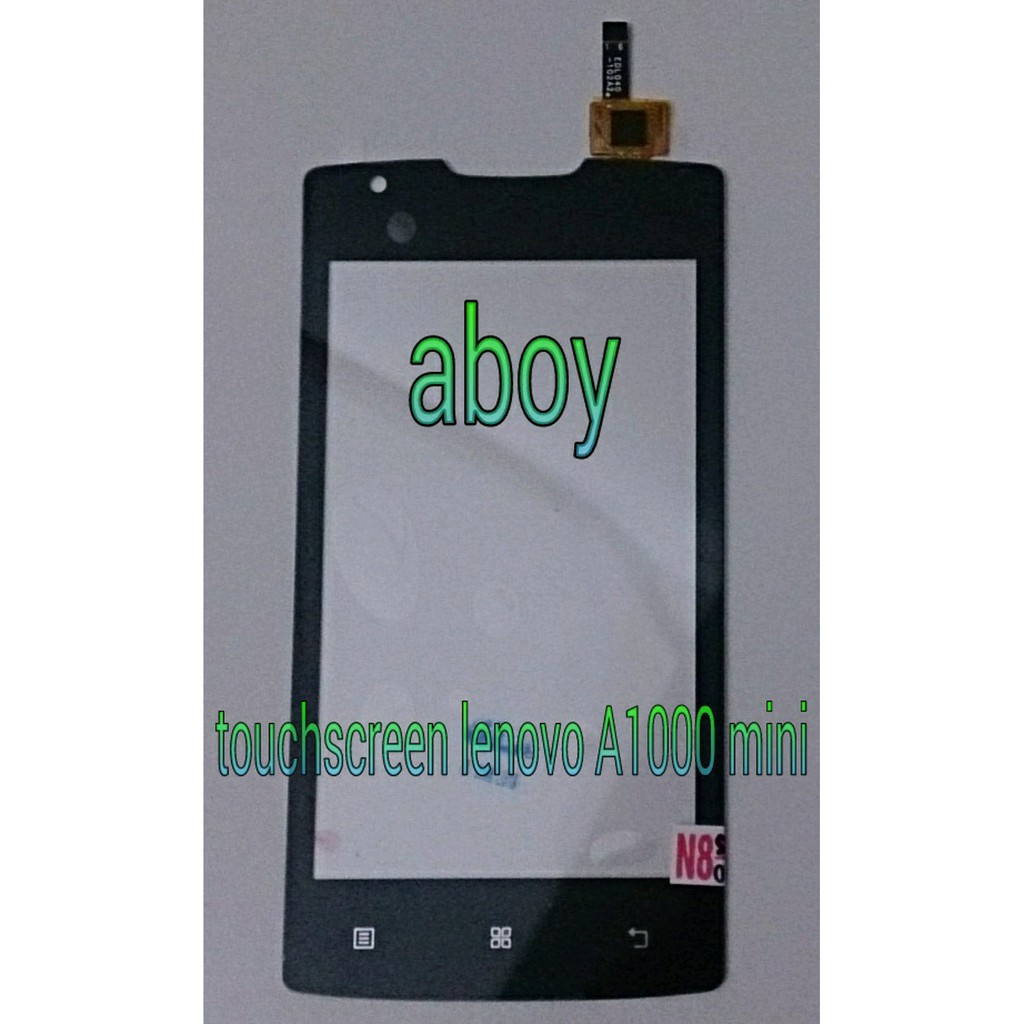 "LCD + Touchscreen LENOVO A1000 Mini 4"" INCH Fullset Ori   Shopee Indonesia"