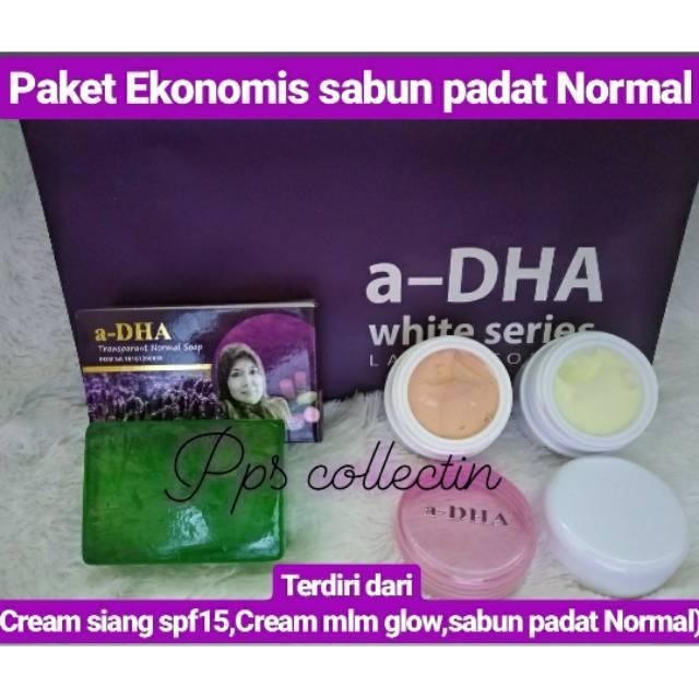 PAKET Ekonomis ADHA Cream Muka,Perawatan Wajah A-DHA White Series, ORIGINAL TERDAFTAR DI BPOM   Shopee Indonesia