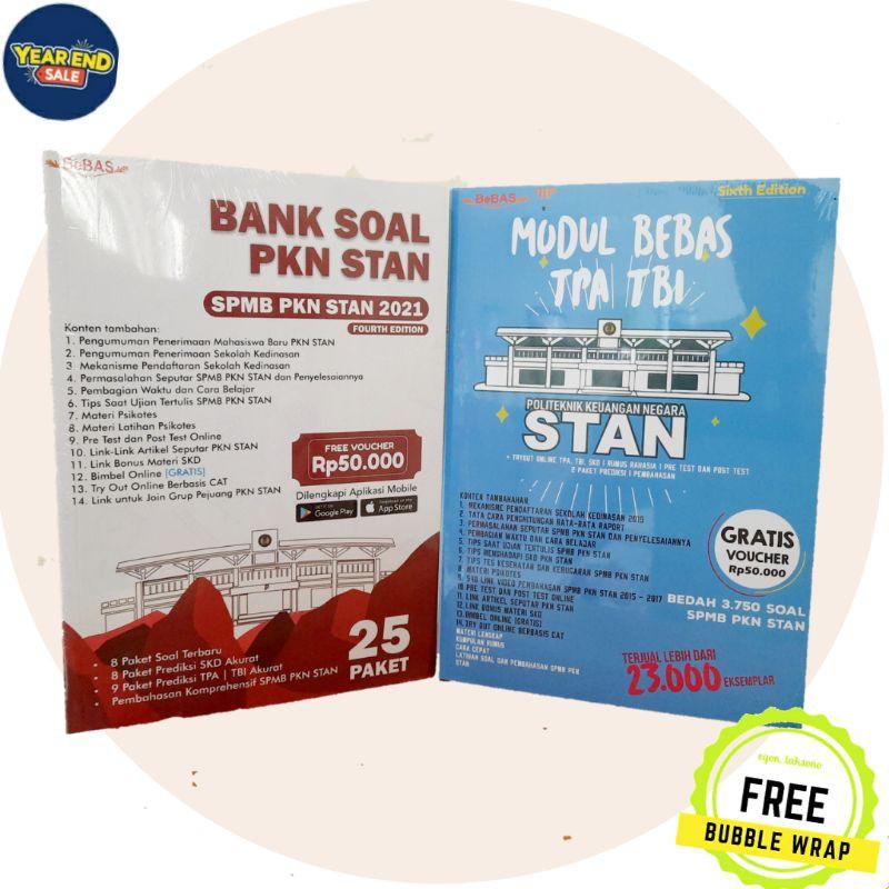 Paket 2 Buku Spmb Pkn Stan Modul Bebas Tpa Tbi Bank Soal Usm Pkn Stan Indonesia