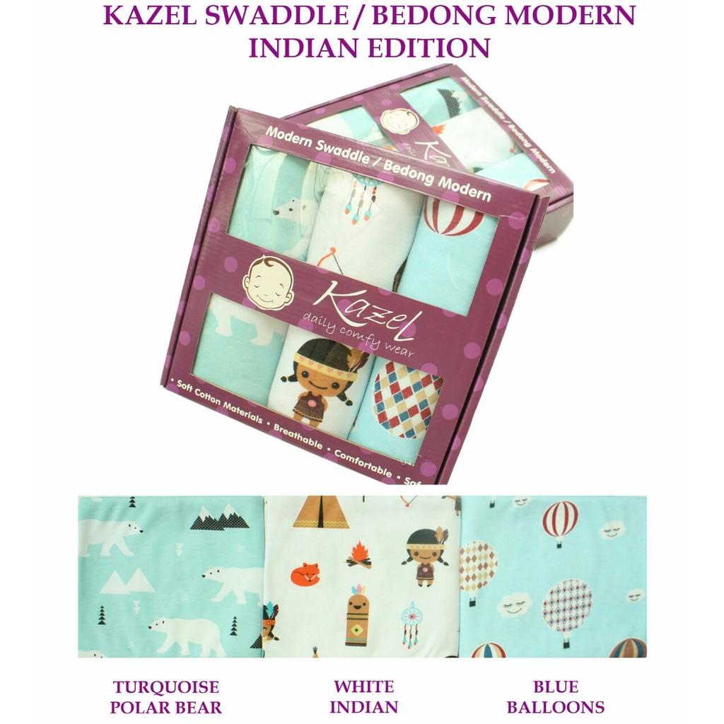 KAZEL MODERN SWADDLE BEDONG BAYI 3IN1 INDIAN EDOTION R65 | Shopee Indonesia