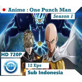 Dvd Anime One Punch Man Full Season 1 2 Sub Indo Subtitle Indonesia Lengkap Shopee Indonesia