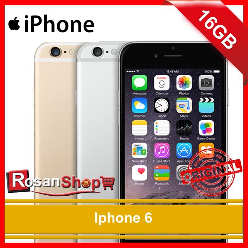 iPhone 6 16GB GOLD garansi distributor 1 tahun  8e54f24a96