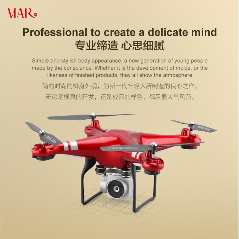 Jual Beli Produk Aksesoris Drone Fotografi Shopee Jjrc H12w Quadcopter Wifi Dengan Kamera 2mp 720p Red Indonesia
