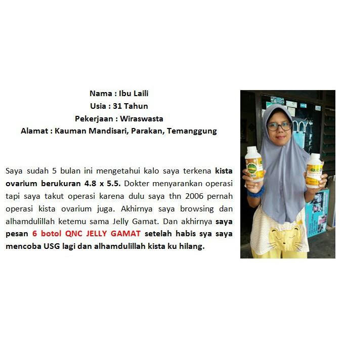 Obat Penghancur Kista Ovarium Kista Rahim Miom Rahim Herbal Terbukti No 1 Qnc Jelly Gamat Shopee Indonesia