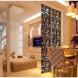 sekat ruangan pembatas ruangan hiasan dekorasi penyekat