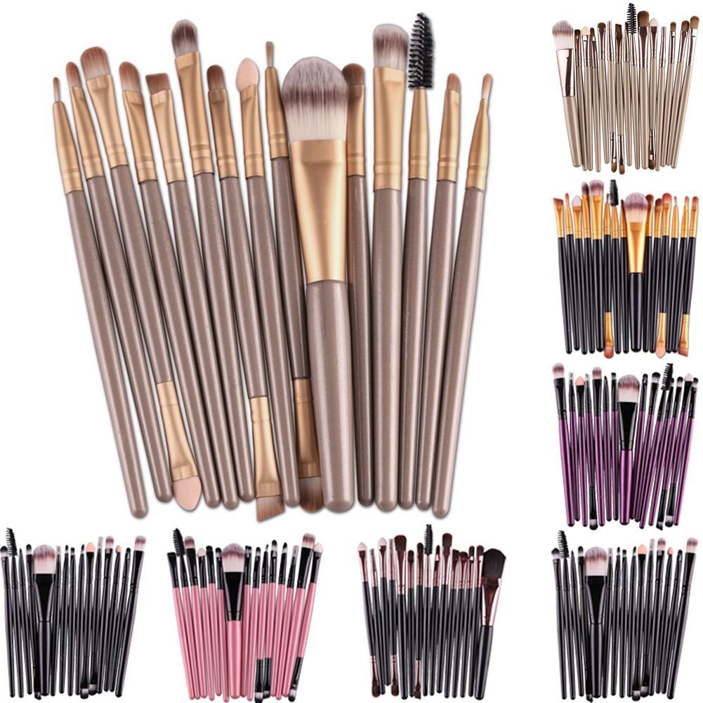 Hot 10 Buah Set Kuas Brush Makeup Kosmetik Profesional Untuk Mascara Naked Foundation Eyeshadow Shopee Indonesia