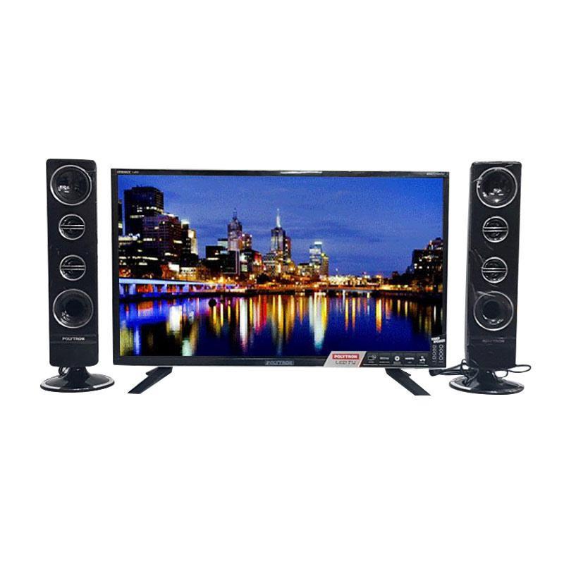 HARGA PROMO TV LED POLYTRON Cinemax Tower Speaker PLD
