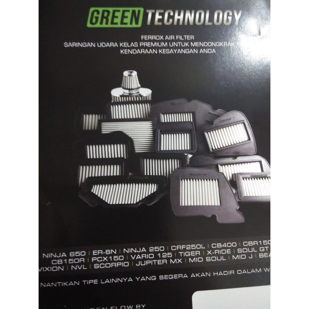 Terbatas Filter Udara Cb 150 R Cbr K45 Ferrox Shopee Indonesia Honda Pcx Pgm Fi