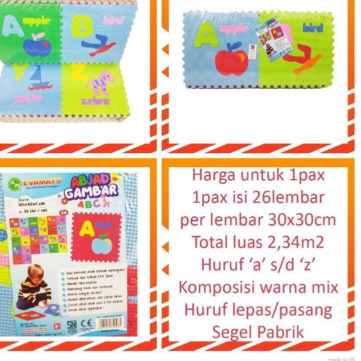 Bahan Lengkap Untuk Model Menggambar A B C D Ee Zd Ee Puzzle Matras Evamat Abjad Gambar Abc Huruf 30x30 Evamats Alas Lantai Playmat Tikar Karpe Shopee Indonesia
