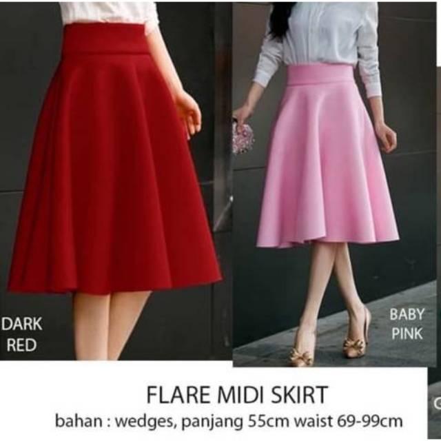 0587b2ff6f6a EXPRESS Tiefront Faux Leather Black Skirt - Rok Bawahan Pesta Hitam Branded  Original Murah Wanita