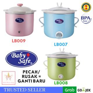 Slow Cooker Digital Baby Safe for Baby LB007 LB008 LB009 Babysafe Food Maker Bayi