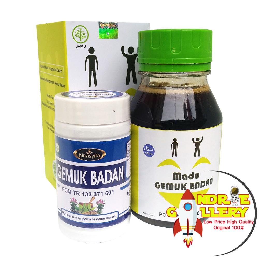 Madu Gemuk Penggemuk Badan Herbal Alami Original Shopee Indonesia