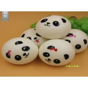 RB Squishy Licensed Roti Panda Kecil 4cm SE011 By Sunny Squishy | Shopee Indonesia