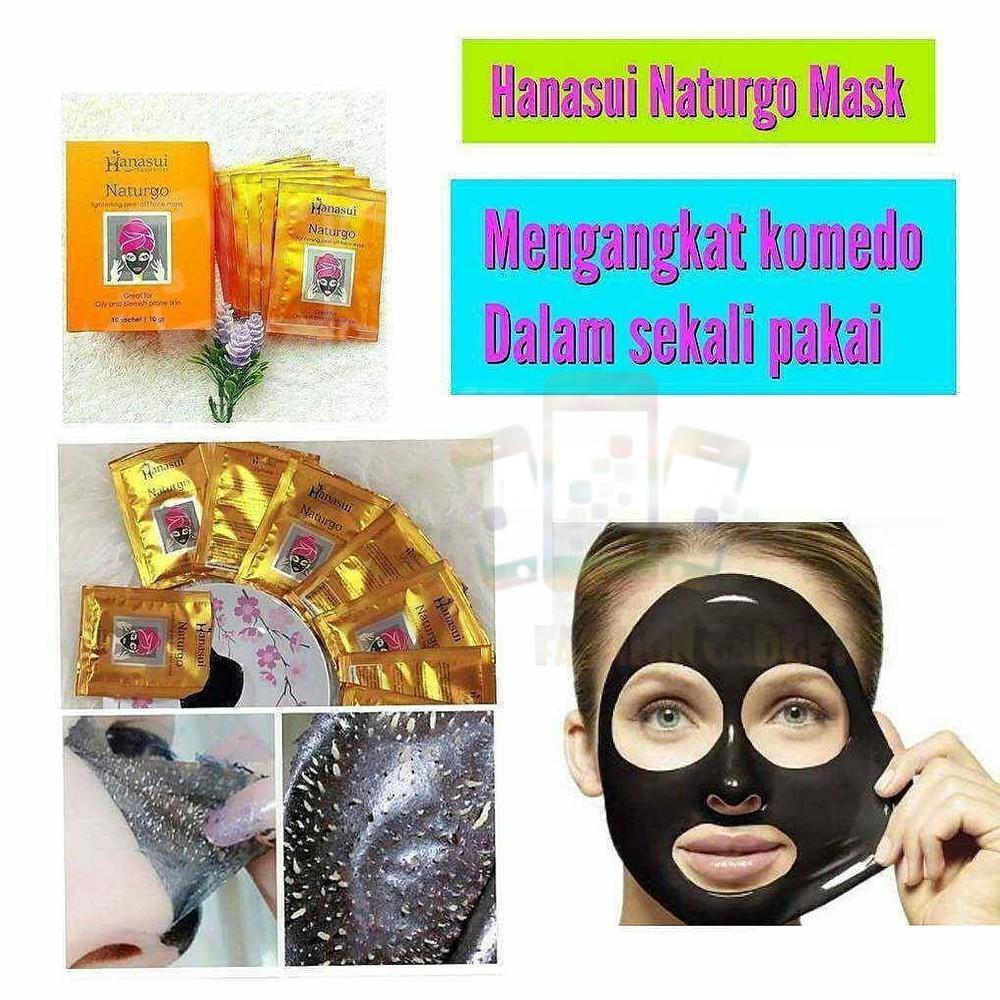 Masker Naturgo Bpom Hanasui Lumpur Original 1box Shopee Indonesia