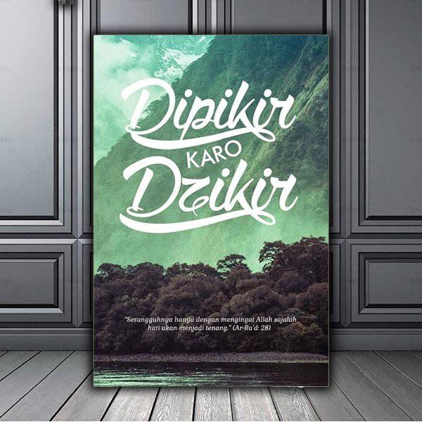 HIASAN DINDING POSTER KAYU WALL DECOR DEKORASI RUMAH HIASAN KAMAR HIASAN HF14   Shopee Indonesia