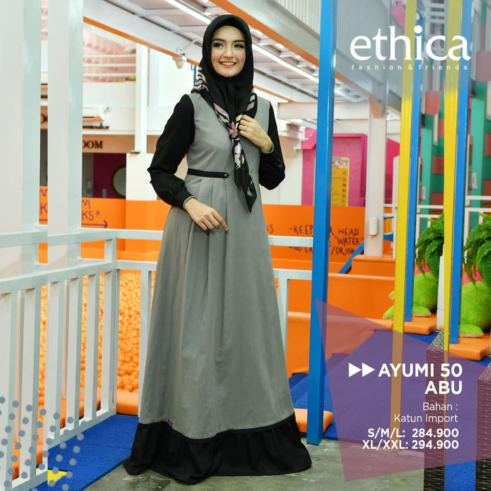 Baju Gamis Ethica Terbaru Jualan Online Lazada