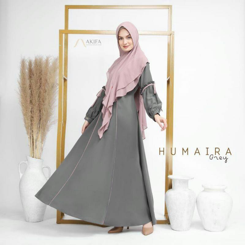Humaira set gamis by Akifa set gamis premium cantik