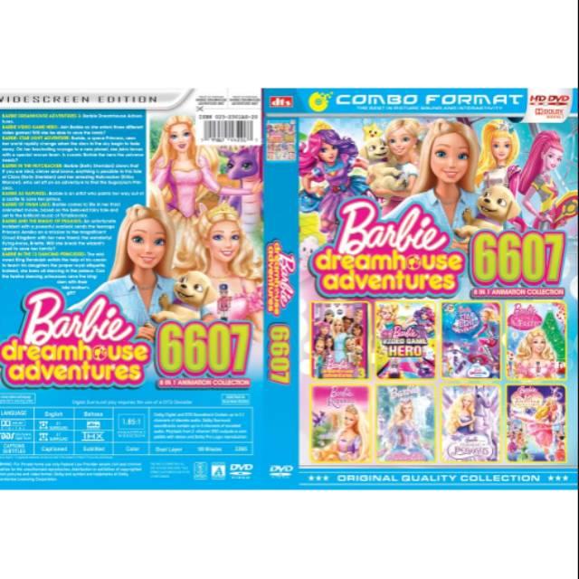 Terbaru Dvd Film Anak Collection Barbie Dreamhouse Adventures 6607 Shopee Indonesia