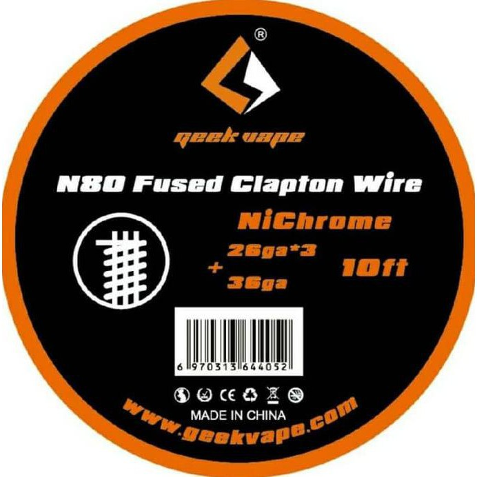Limited Geek Vape Ni80 Clapton Wire 10Ft Coil GeekVape | Shopee Indonesia