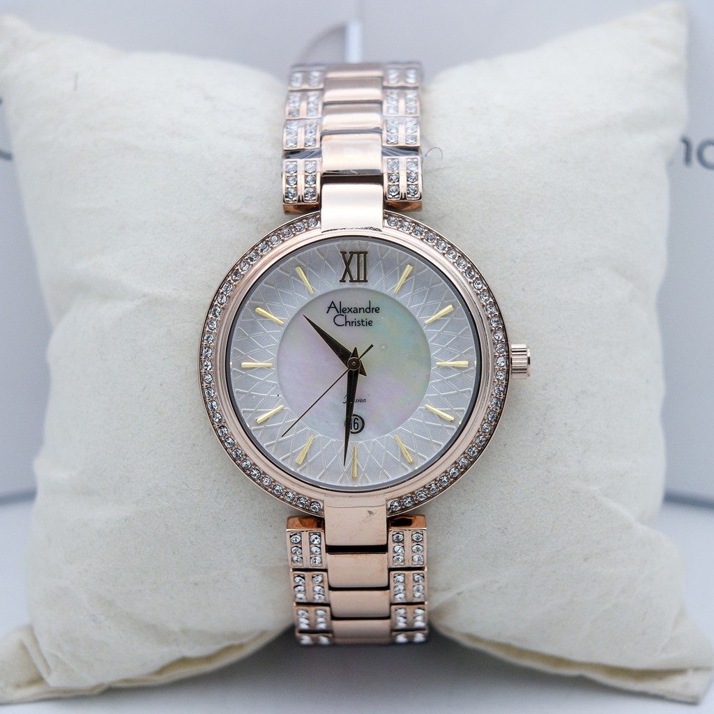Alexandre Christie Ac 2630 Gold Ladies Original Shopee Indonesia Ac2511 For