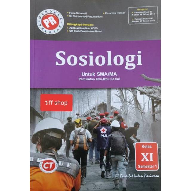 Buku Pr Lks Sosiologi Kelas Xi Semester 1 K13 Revisi 2020 2021 Shopee Indonesia