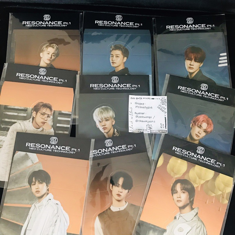 [NCT 2020] Resonance Pt.1 (Holo) Standee ONLY