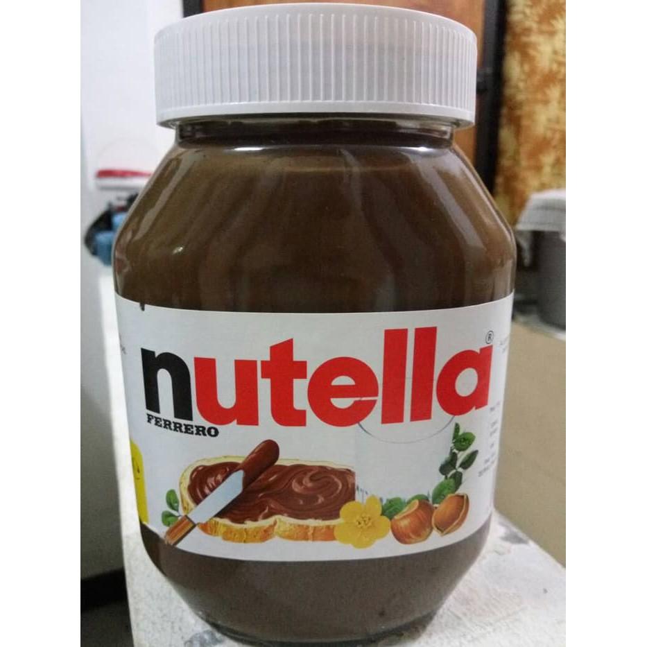 Nutella Spread 350 Gram Shopee Indonesia Ferrero Selai Coklat Hazelnut 350g