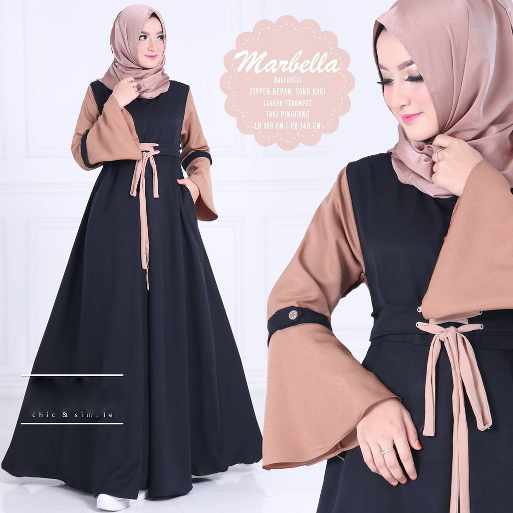 Kebaya Modern Hijab Remaja Style Modis Cantik Brokat Aurora Two Tone Terbaru Pink Mint Silver Biru   Shopee Indonesia