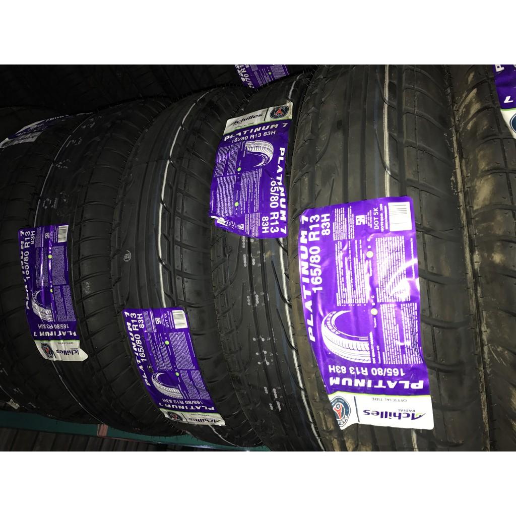 Achilles Platinum 7 165 80 R13 Ban Mobil Daftar Harga Terbaru Dan Accelera Gamma 16565 Black