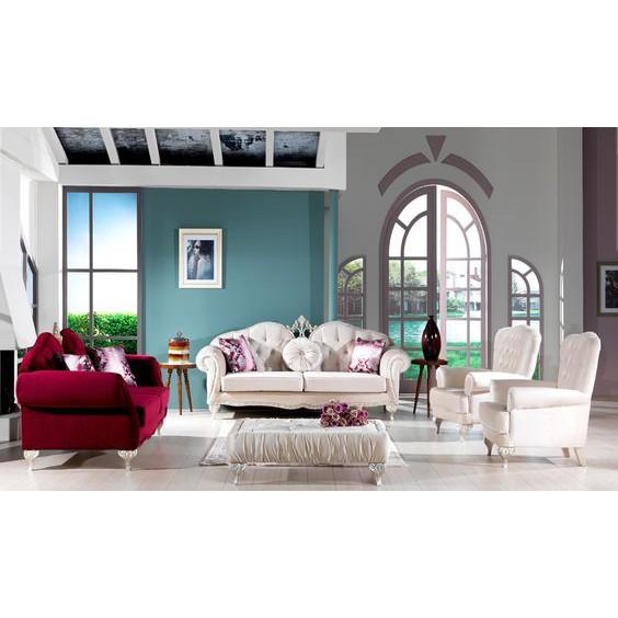 Set Sofa Tamu Classic New Design Model Furniture Ruang Tamu Mewah