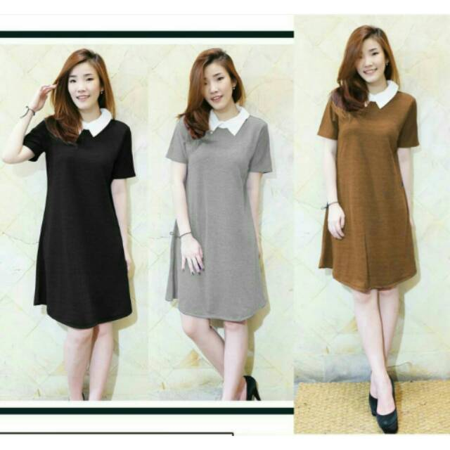 HCL DRESS VIGUN   DRESS BRUKAT   BAJU DRESS   DRESS MURAH   FREE ONGKIR  8a0ca52cf7