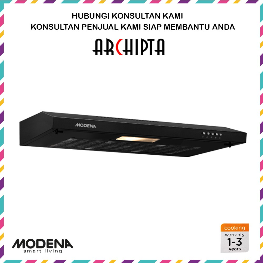 Ix 9306 Modena Exshaust Shopee Indonesia Slim Hood Sx 9001 Sl Cooker 90 Cm
