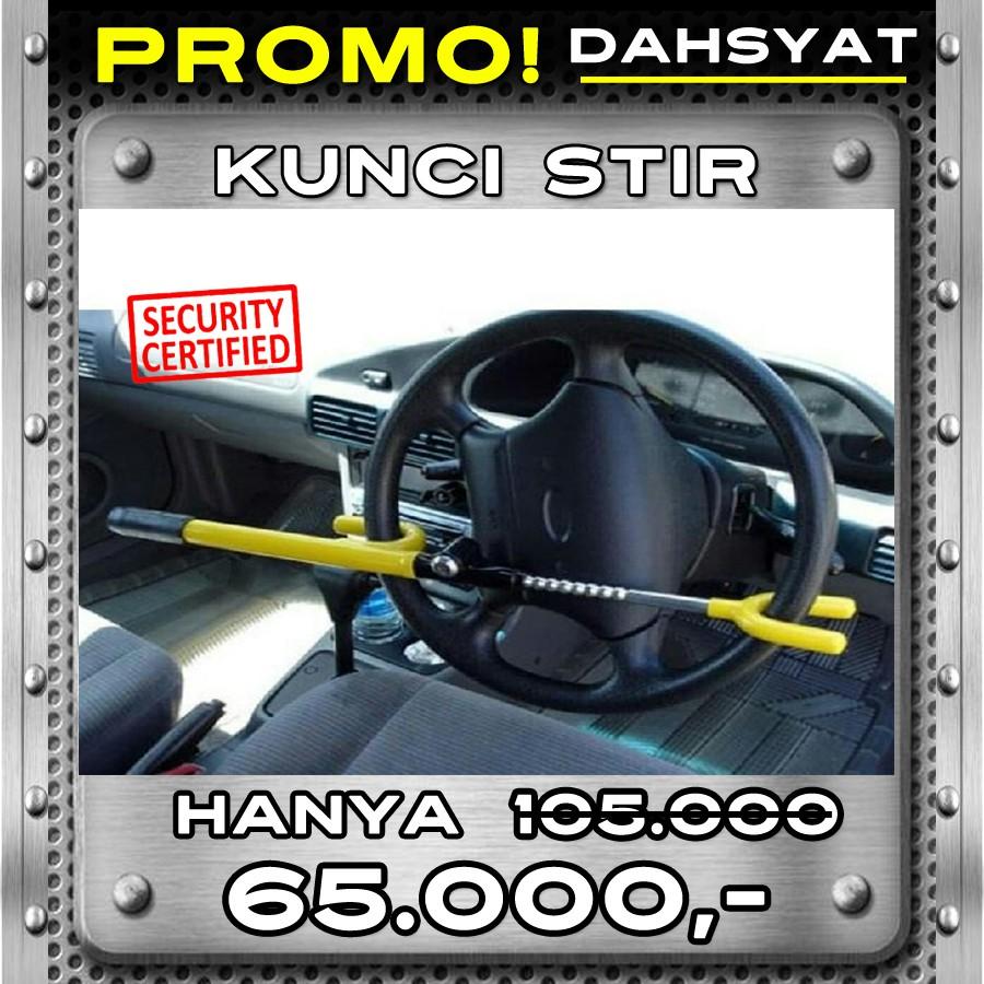 Kunci Stir Mobil Mobil Armored Bar Original - Kunci Pengaman - kunci Setir   Shopee Indonesia