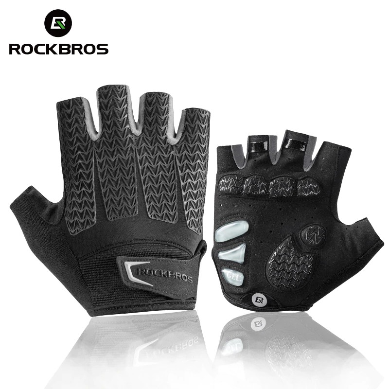 Wheelup Half Finger Cycling Gloves Outdoor Breathable Damping Protective Glove