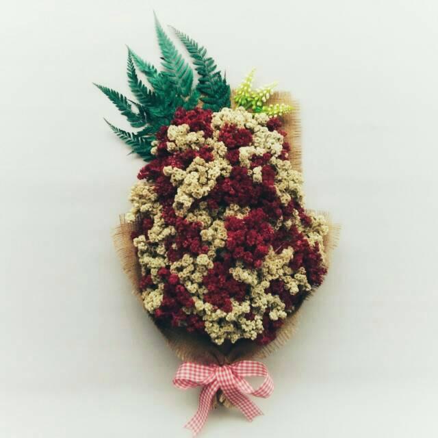Buket Bunga Edelweis Be120 Shopee Indonesia
