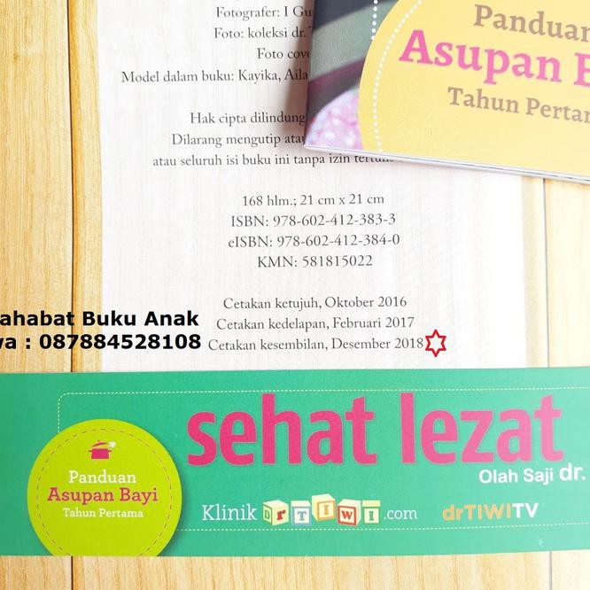Jual Buku Mpasi Sehat Lezat Olah Saji Dr Tiwi Shopee Indonesia