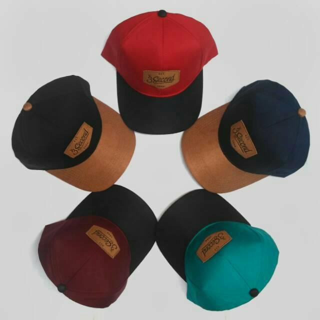 Topi Promo Topi Pria 3Second Men Hat 100% Original Distro 3 Second ... 9e1e870ac5