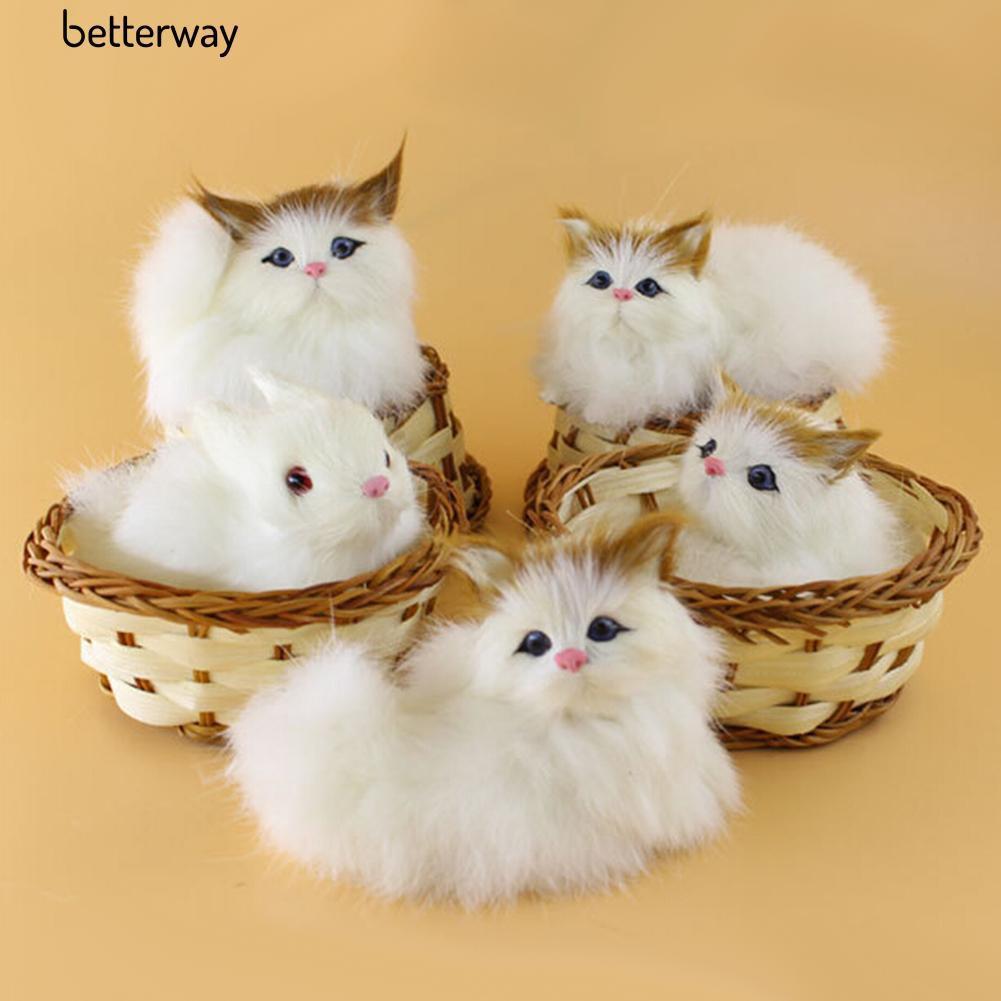 Cat Plush Toy Miniso Boneka anak kucing lucu imut kado doll original   Shopee Indonesia
