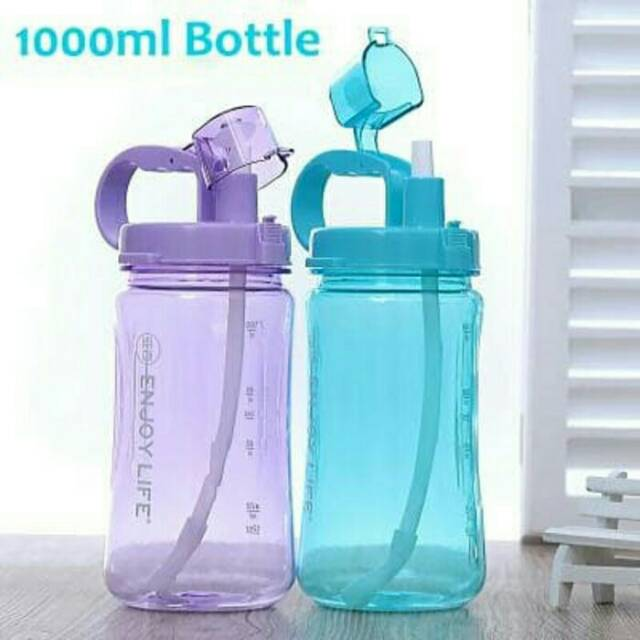 R3C10107 Botol Minum Anak Karakter BPA Free Water Bottle Straw H-7216 | Shopee Indonesia
