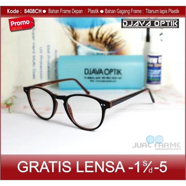 Kacamata Minus Kotak Terbaru Pria   Wanita + Lensa Baca Anti Radiasi Murah   c16a69d521