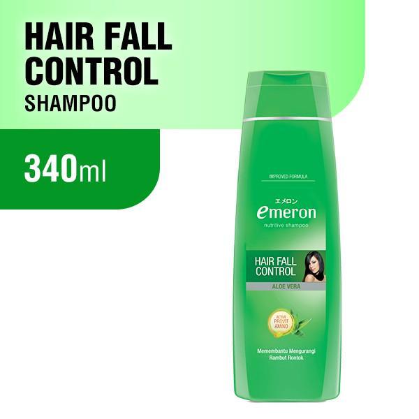 Emeron Shampoo Hair Fall Control Botol 340ml.-1