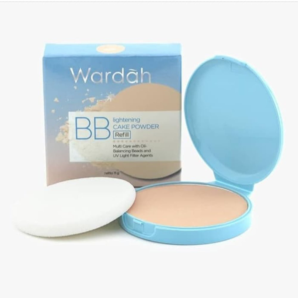 Wardah REFILL Lightening BB Cake Powder | Shopee Indonesia